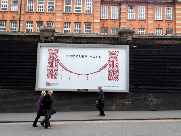 Out Of Home University - University of Bristol - Billboard Advertising