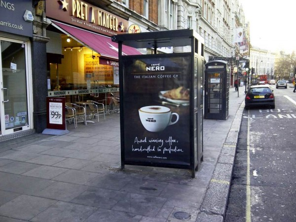 Out Of Home International - Caffe Nero - Outdoor Advertising