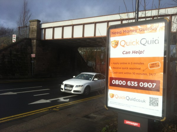 Out Of Home International - QuickQuid - Roadside 6-Sheet Billboard
