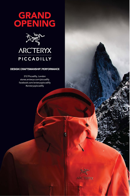 Arc'teryx Out of Home Advertisement