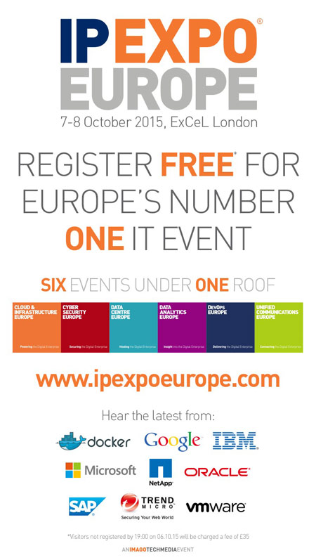IP EXPO Europe 2015 at ExCel London