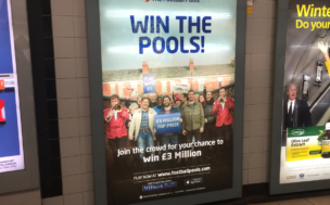 football pools london underground
